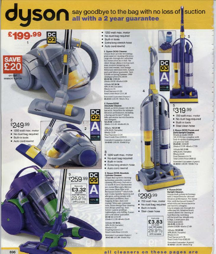 Vintage Vacuum Cleaner Advertisements